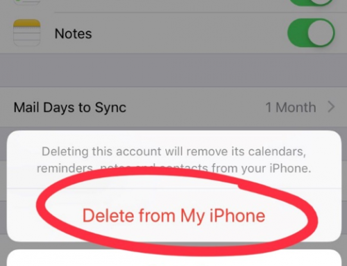 How to Remove an Exchange Email Account on iPhone